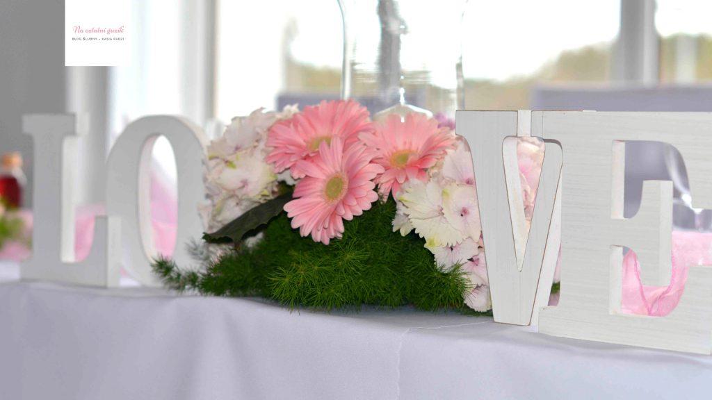 dekoracje wesela